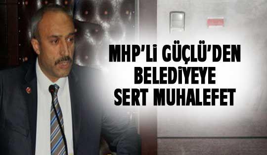 MHP'den sert eleştiriler