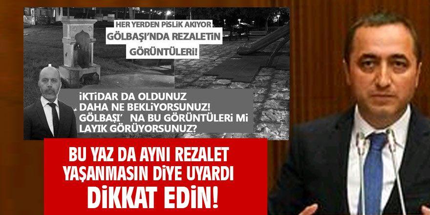 MHP'li Ilıkan'dan Mansur Yavaş'a: DİKKAT EDİN!