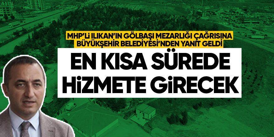 MHP'li Ilıkan'ın çağrısına Büyükşehir'den yanıt geldi