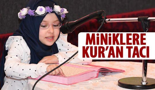 Miniklere Kur'an-ı Kerim eğitimi