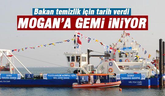 Mogan'a gemi iniyor