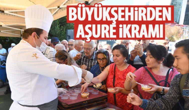 Muharrem ayı nedeniyle Ankaralılara aşure ikramı