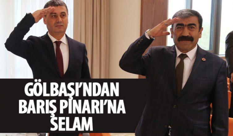 Muhtarlardan Barış Pınarı'na destek!