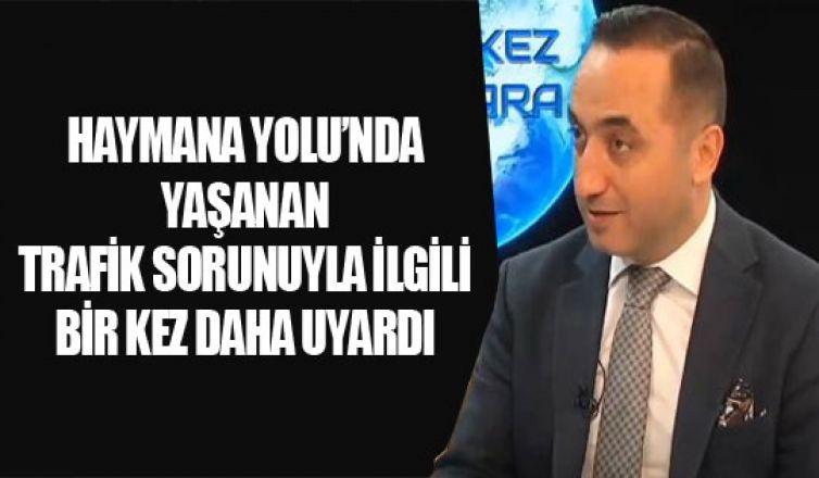 Murat Ilıkan : 'Krize dönüşmeden tedbir alınmalı'
