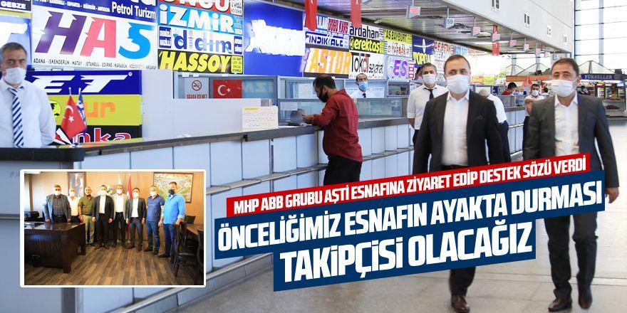 MURAT ILIKAN: ' ÖNCELİĞİMİZ ESNAFIN AYAKTA DURMASI'