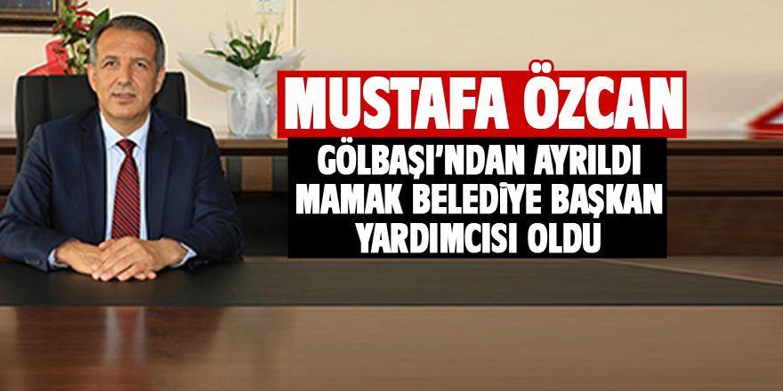 Mustafa Özcan Mamak Belediye Başkan Yardımcısı oldu