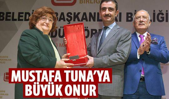 Mustafa Tuna en beğenilen başkan