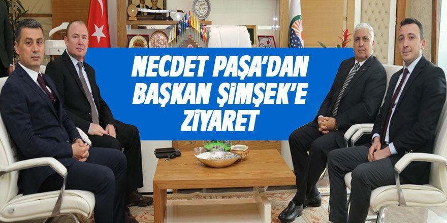 Necdet Özel'den Başkan Şimşek'e ziyaret