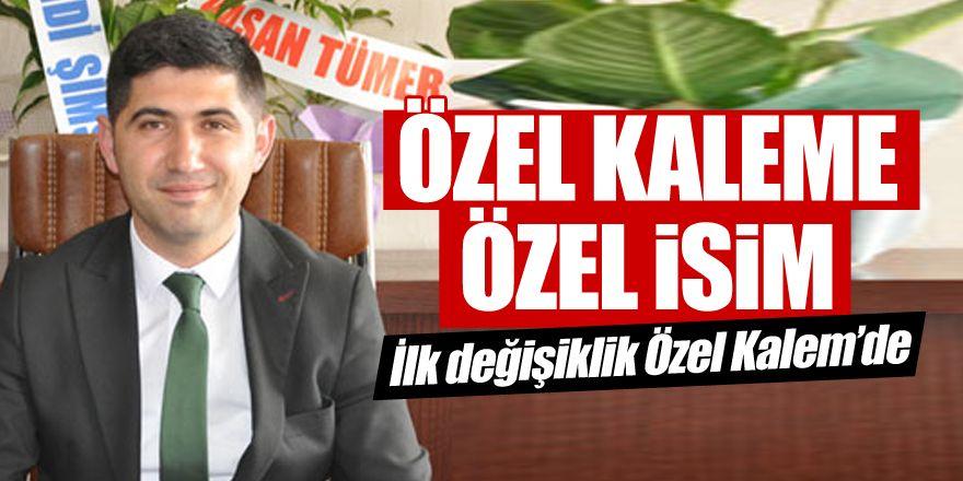 Özel Kalem Müdürlüğüne Osman Bostanoğlu atandı