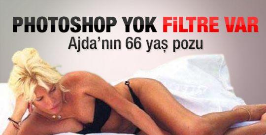 Photoshop'suz Ajda bikinili
