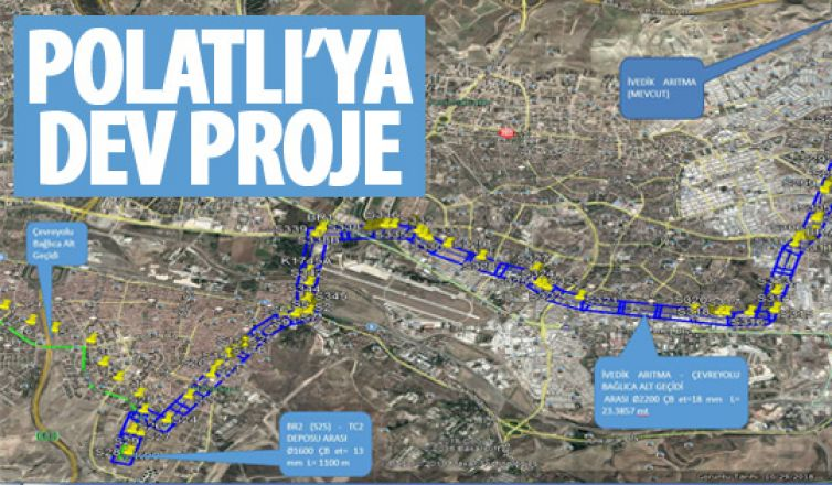 Polatlı'ya dev proje