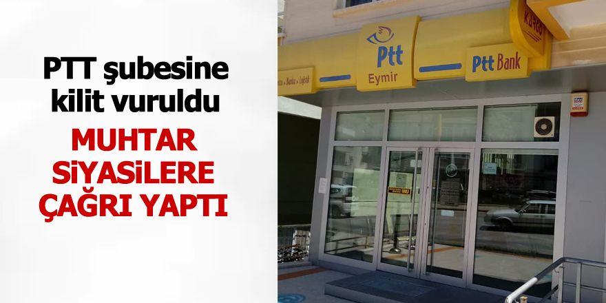 PTT Karşıyaka şubesini kapattı