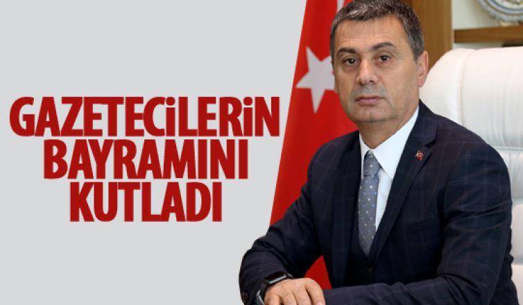 Ramazan Şimşek, Gazeteciler ve Basın Bayramı mesajı
