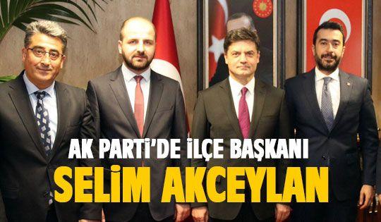 Selim Akceylan ilçe başkanı oldu