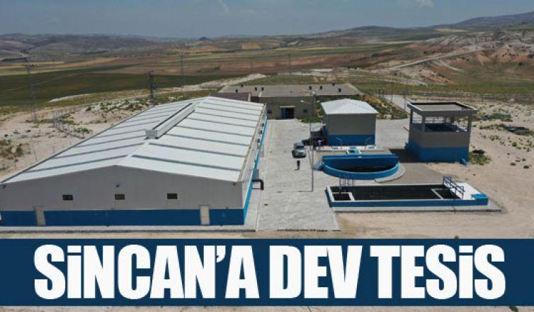 Sincan İlçesi Temelli Mahallesi'nde su arıtma tesisi açıldı