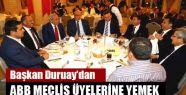 Başkan Duruay'dan ABB Meclis Üyelerine...