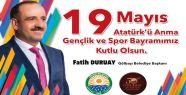 Gölbaşı Belediye Başkanı Fatih Duruay...