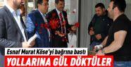 Gölbaşı esnafı Murat Köse'yi bağrına...