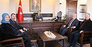 Mahmut Aksoy, ziyaretlerini sürdürüyor
