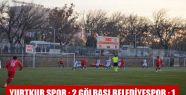 Yurtkur Spor : 2 Gölbaşı Belediyespor...