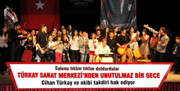 Türkay Sanat Merkezi'nden unutulmaz bir gece