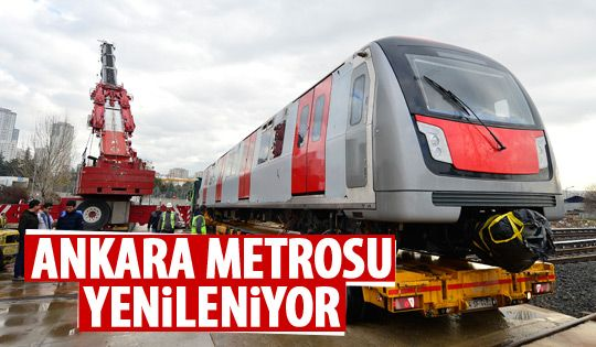 Yeni metro vagonları teslim alındı