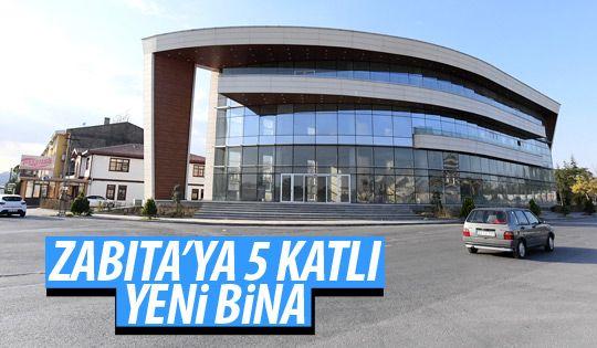Zabıta'ya yeni bina
