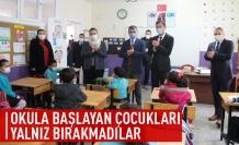 Ramazan ağabeylerlerinden Okula Başlayan Çocuklara Ziyaret