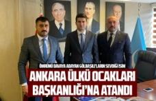 Abdullah Yüksel Ankara Ülkü Ocakları Başkanı oldu