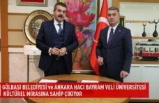 Gölbaşı belediyesi ve Ankara hacı bayram veli üniversitesi kültürel mirasına sahip çıkıyor