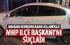 Arabası kurşunlanan Aslanoğlu'ndan dikkat çeken açıklamalar!