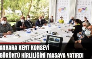 Ankara kent konseyi görüntü kirliliğini masaya...