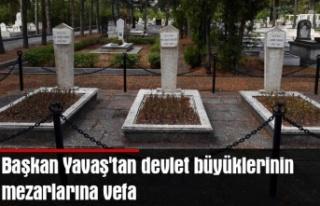 Başkan Yavaş'tan devlet büyüklerinin mezarlarına...