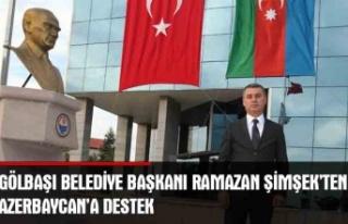 """Gölbaşı Belediye Başkanı Ramazan Şimşek """"Türk..."""