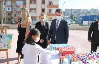 Gölbaşı Belediye Başkanı Şimşek'ten süt...