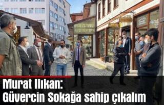 Murat Ilıkan: Güvercin Sokağa sahip çıkalım