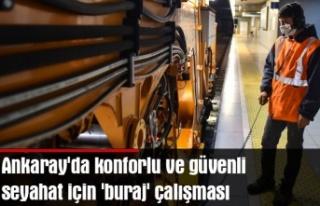 Ankaray'da konforlu ve güvenli seyahat için...