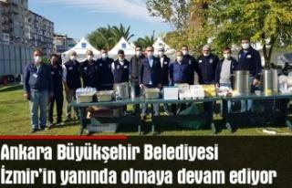Büyükşehir İzmir'in yanında olmaya devam...