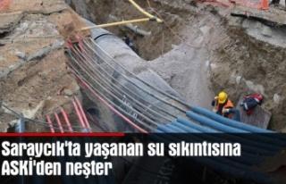 Saraycık'ta yaşanan su sıkıntısına ASKİ'den...