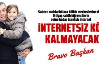 Ücretsiz internet, kırsaldaki öğrencilerin evine...