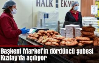 Başkent Market'in dördüncü şubesi Kızılay'da...