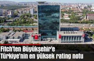 Fitch'ten Büyükşehir'e Türkiye'nin...