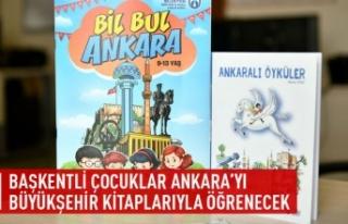 Başkentli çocuklar Ankara'yı Büyükşehir...