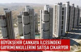 Büyükşehir Çankaya ilçesindeki gayrimenkulleri...
