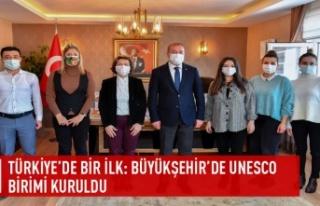Türkiye'de bir ilk:Büyükşehir'de UNESCO...