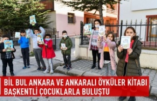 """Bil Bul Ankara"""" ve """"Ankaralı Öyküler"""" kitapları..."""