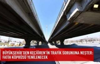 Büyükşehir'den Keçiören'in trafik sorununa...