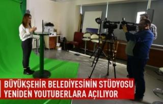 Büyükşehir stüdyolarının kapıları youtuberlara...