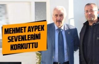 Mehmet Aypek sevenlerini korkuttu