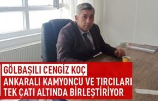 Türkiye Kamyoncular ve Tırcılar Derneği'nde...